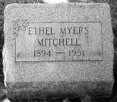MITCHELL, ETHEL MYERS - Stark County, Ohio | ETHEL MYERS MITCHELL - Ohio Gravestone Photos