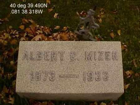 MIZER, ALBERT G. - Stark County, Ohio | ALBERT G. MIZER - Ohio Gravestone Photos