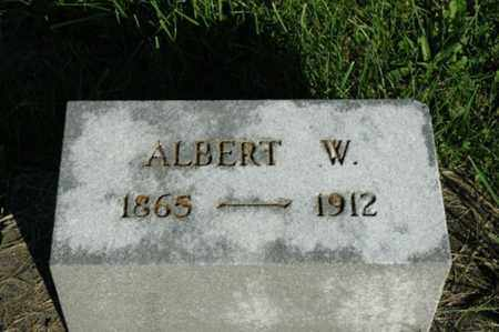 MIZER, ALBERT W. - Stark County, Ohio | ALBERT W. MIZER - Ohio Gravestone Photos