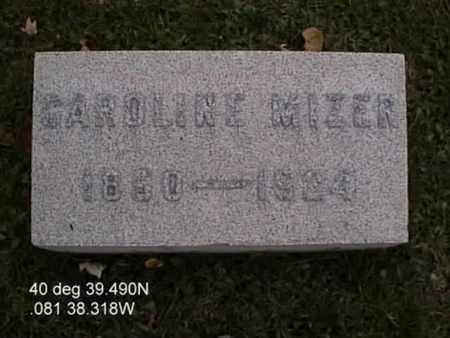 SCHMIDT MIZER, CAROLINE - Stark County, Ohio | CAROLINE SCHMIDT MIZER - Ohio Gravestone Photos