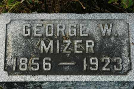 MIZER, GEORGE W. - Stark County, Ohio | GEORGE W. MIZER - Ohio Gravestone Photos