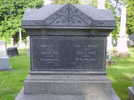 AUGUSTINE MOBLEY, MARY A. - MONUMENT - Stark County, Ohio | MARY A. - MONUMENT AUGUSTINE MOBLEY - Ohio Gravestone Photos