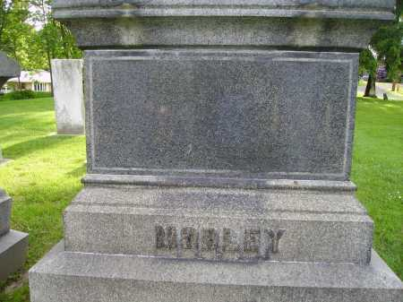 MOBLEY MONUMENT, BACKVIEW - Stark County, Ohio | BACKVIEW MOBLEY MONUMENT - Ohio Gravestone Photos