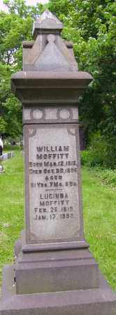 MOFFIT, WILLIAM - MONUMENT - Stark County, Ohio | WILLIAM - MONUMENT MOFFIT - Ohio Gravestone Photos