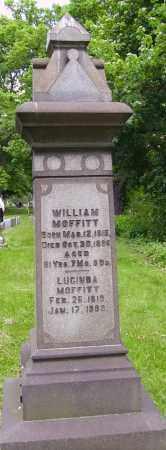 MOFFIT, LUCINDA - MONUMENT - Stark County, Ohio | LUCINDA - MONUMENT MOFFIT - Ohio Gravestone Photos