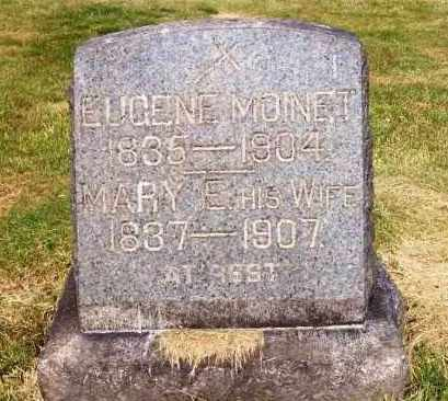 BARR MOINET, MARY E. - Stark County, Ohio | MARY E. BARR MOINET - Ohio Gravestone Photos