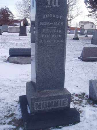 MONNIE, AUGUST - Stark County, Ohio | AUGUST MONNIE - Ohio Gravestone Photos