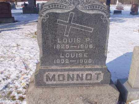 MONNOT, LOUISE EMILIE - Stark County, Ohio | LOUISE EMILIE MONNOT - Ohio Gravestone Photos