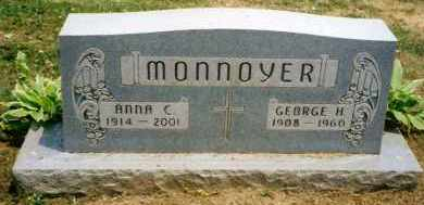 DUNLAP MONNOYER, ANNA C. - Stark County, Ohio | ANNA C. DUNLAP MONNOYER - Ohio Gravestone Photos