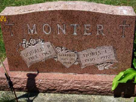 MONTER, DORIS L. - Stark County, Ohio | DORIS L. MONTER - Ohio Gravestone Photos