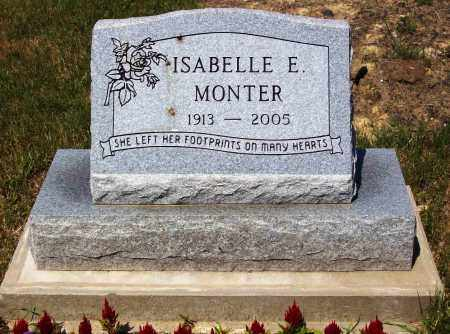 MONTER, ISABELLE E. - Stark County, Ohio | ISABELLE E. MONTER - Ohio Gravestone Photos