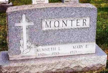 CROSKEY MONTER, MARY E. - Stark County, Ohio | MARY E. CROSKEY MONTER - Ohio Gravestone Photos
