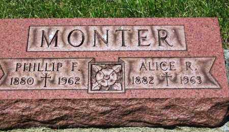 LAMIELLE MONTER, ALICE R. - Stark County, Ohio | ALICE R. LAMIELLE MONTER - Ohio Gravestone Photos