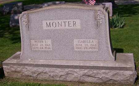 MONTER, ISABELLA - Stark County, Ohio | ISABELLA MONTER - Ohio Gravestone Photos