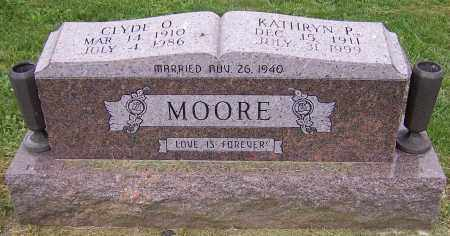 MOORE, KATHRYN P. - Stark County, Ohio | KATHRYN P. MOORE - Ohio Gravestone Photos