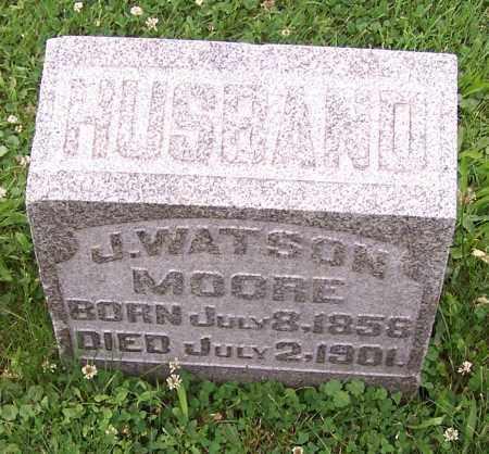 MOORE, J. WATSON - Stark County, Ohio | J. WATSON MOORE - Ohio Gravestone Photos