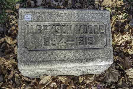 MOORE, U. BRYSON - Stark County, Ohio | U. BRYSON MOORE - Ohio Gravestone Photos
