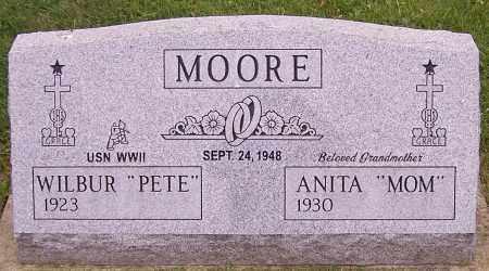 "MOORE, WILBUR ""PETE' - Stark County, Ohio | WILBUR ""PETE' MOORE - Ohio Gravestone Photos"