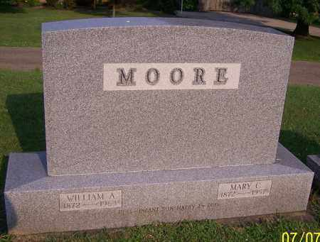 MOORE, WILLIAM A. - Stark County, Ohio | WILLIAM A. MOORE - Ohio Gravestone Photos