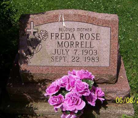 MORRELL, FREDA ROSE - Stark County, Ohio | FREDA ROSE MORRELL - Ohio Gravestone Photos