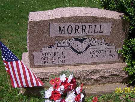 MORRELL, ROBERT C. - Stark County, Ohio | ROBERT C. MORRELL - Ohio Gravestone Photos