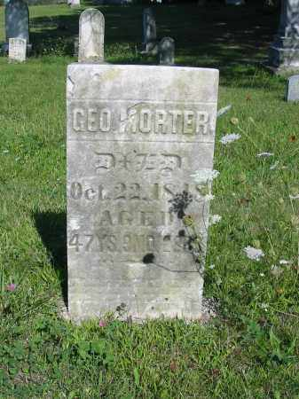 MORTER, GEORGE - Stark County, Ohio | GEORGE MORTER - Ohio Gravestone Photos
