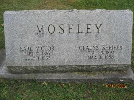 VICTOR MOSELEY, EARL - Stark County, Ohio | EARL VICTOR MOSELEY - Ohio Gravestone Photos