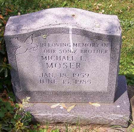 MOSER, MICHAEL L. - Stark County, Ohio | MICHAEL L. MOSER - Ohio Gravestone Photos