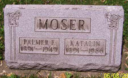 MOSER, KATALIN - Stark County, Ohio | KATALIN MOSER - Ohio Gravestone Photos