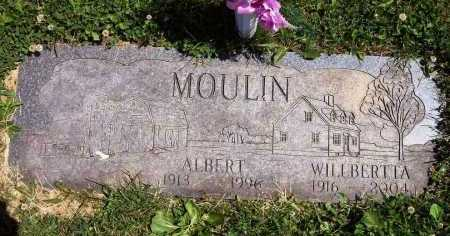 MOULIN, WILLBERTTA P. - Stark County, Ohio | WILLBERTTA P. MOULIN - Ohio Gravestone Photos