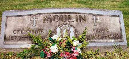 MOULIN, EMMA - Stark County, Ohio | EMMA MOULIN - Ohio Gravestone Photos