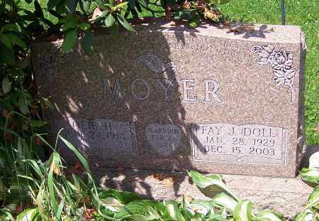 DOLL MOYER, FAY J. - Stark County, Ohio | FAY J. DOLL MOYER - Ohio Gravestone Photos