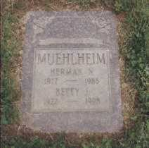MUEHLHEIM, BETTY - Stark County, Ohio | BETTY MUEHLHEIM - Ohio Gravestone Photos