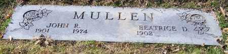 MULLEN, BEATRICE D. - Stark County, Ohio | BEATRICE D. MULLEN - Ohio Gravestone Photos