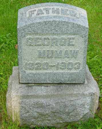 MUMAW, GEORGE - Stark County, Ohio | GEORGE MUMAW - Ohio Gravestone Photos