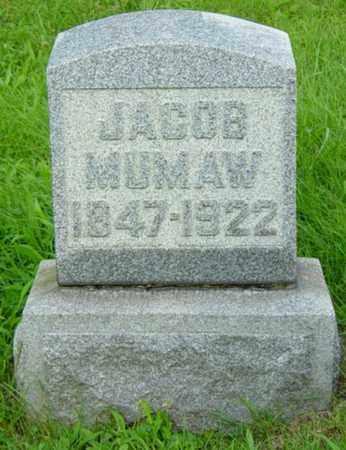 MUMAW, JACOB - Stark County, Ohio | JACOB MUMAW - Ohio Gravestone Photos
