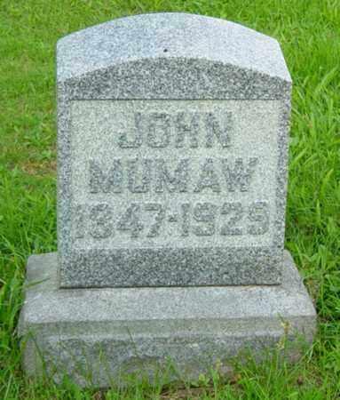 MUMAW, JOHN - Stark County, Ohio | JOHN MUMAW - Ohio Gravestone Photos
