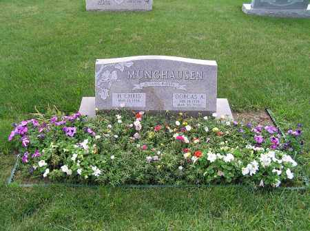 MUNCHAUSEN, H CHRIS - Stark County, Ohio | H CHRIS MUNCHAUSEN - Ohio Gravestone Photos