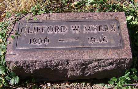 MYERS, CLIFFORD W. - Stark County, Ohio | CLIFFORD W. MYERS - Ohio Gravestone Photos
