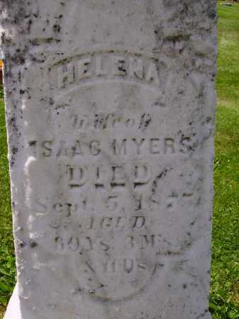 MILLER MYERS, HELENA - Stark County, Ohio | HELENA MILLER MYERS - Ohio Gravestone Photos