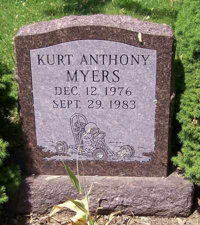 MYERS, KURT ANTHONY - Stark County, Ohio | KURT ANTHONY MYERS - Ohio Gravestone Photos