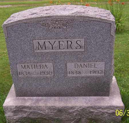 MYERS, DANIEL - Stark County, Ohio | DANIEL MYERS - Ohio Gravestone Photos