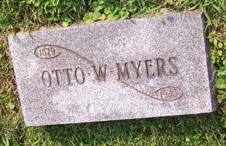 MYERS, OTTO W. - Stark County, Ohio | OTTO W. MYERS - Ohio Gravestone Photos