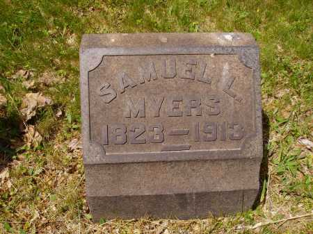 MYERS, SAMUEL L. - Stark County, Ohio | SAMUEL L. MYERS - Ohio Gravestone Photos