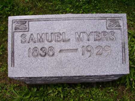 MYERS, SAMUEL - Stark County, Ohio | SAMUEL MYERS - Ohio Gravestone Photos