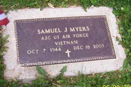 MYERS, SAMUEL J.   (MIL) - Stark County, Ohio | SAMUEL J.   (MIL) MYERS - Ohio Gravestone Photos