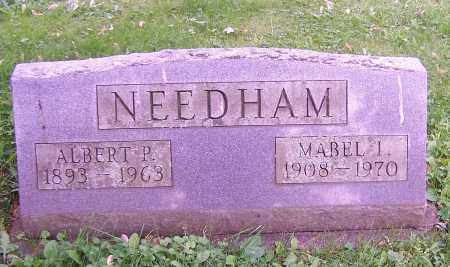 NEEDHAM, ALBERT P. - Stark County, Ohio | ALBERT P. NEEDHAM - Ohio Gravestone Photos