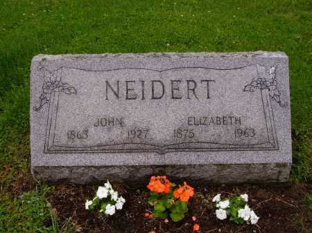 NEIDERT, ELIZABETH - Stark County, Ohio | ELIZABETH NEIDERT - Ohio Gravestone Photos