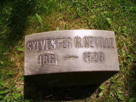 NEVILLE, SYLVESTER M. - Stark County, Ohio | SYLVESTER M. NEVILLE - Ohio Gravestone Photos