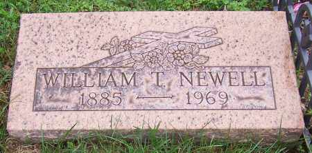 NEWELL, WILLIAM T. - Stark County, Ohio | WILLIAM T. NEWELL - Ohio Gravestone Photos